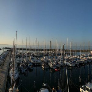 Der Hafen Glowe